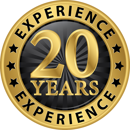 20+ Years in Business